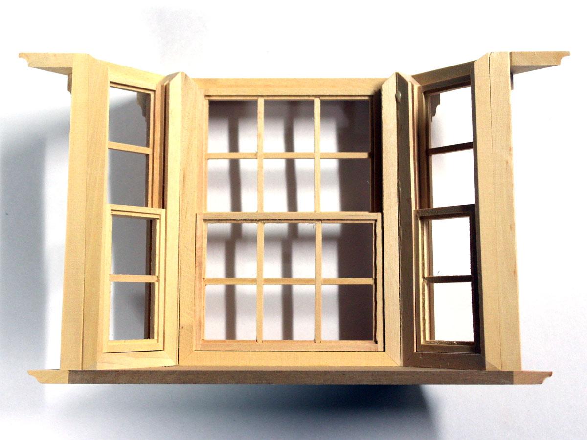 ドールハウスキット出窓
