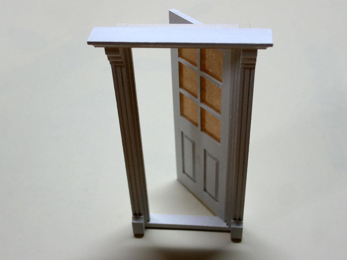ドールハウスキット玄関ドア