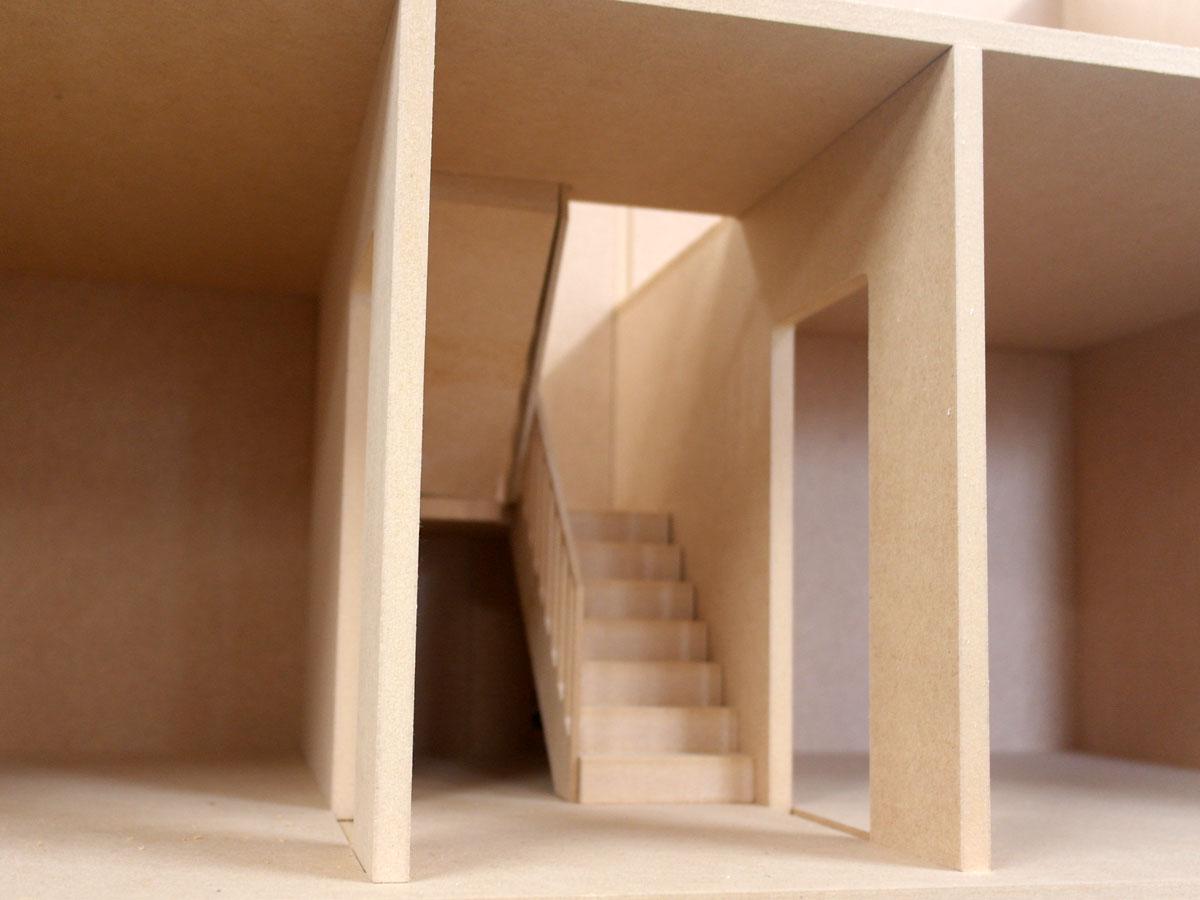 ドールハウスキット階段