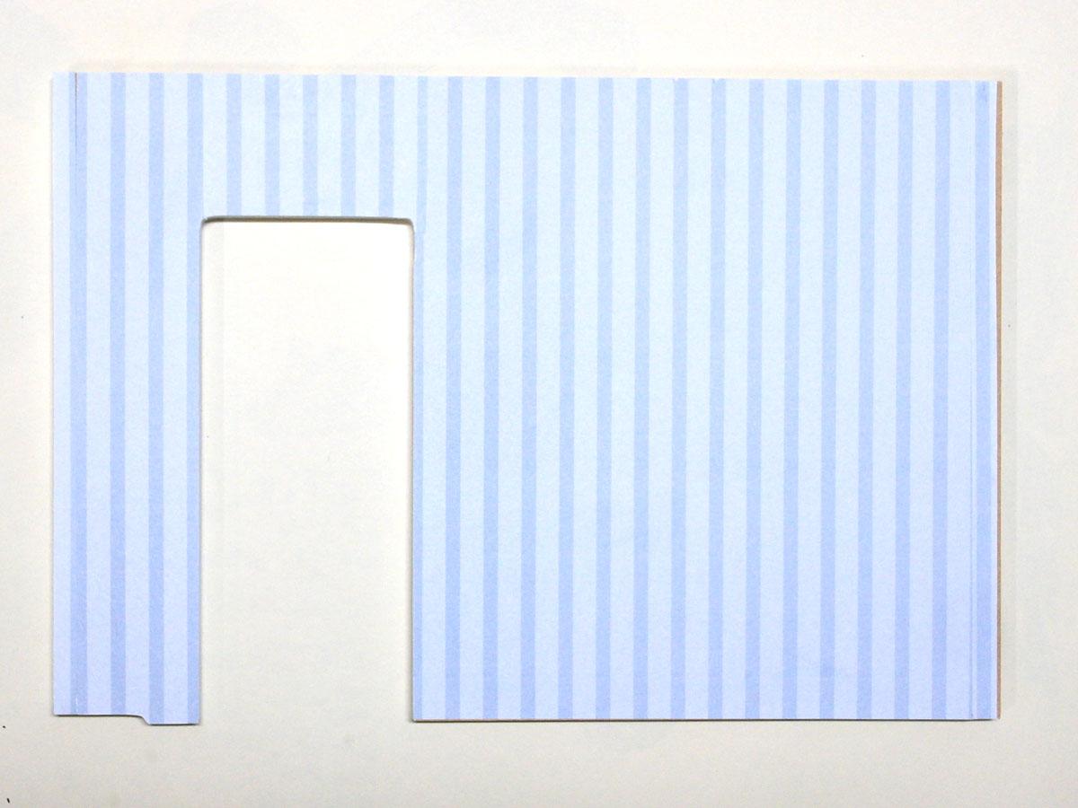 ドールハウスキット壁紙
