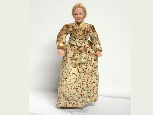 ビスクドール  ビスクドール婦人 13.8cm
