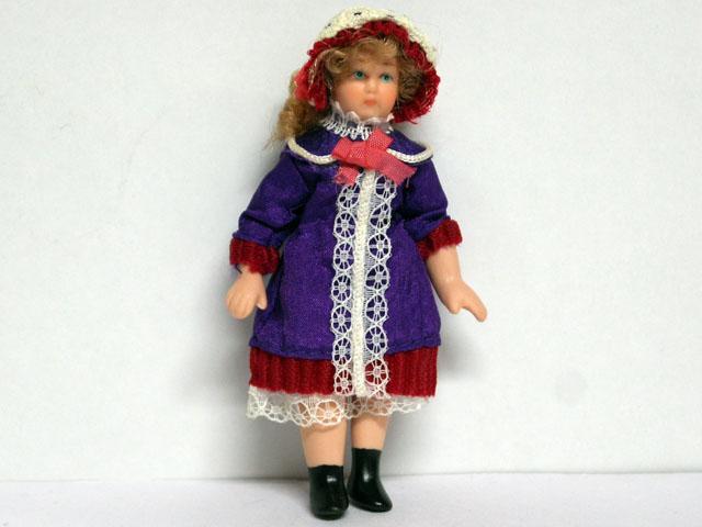 ビスクドール  ビスクドール・女の子 9.8cm