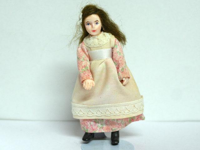 ビスクドール  ビスクドール・女の子 11cm