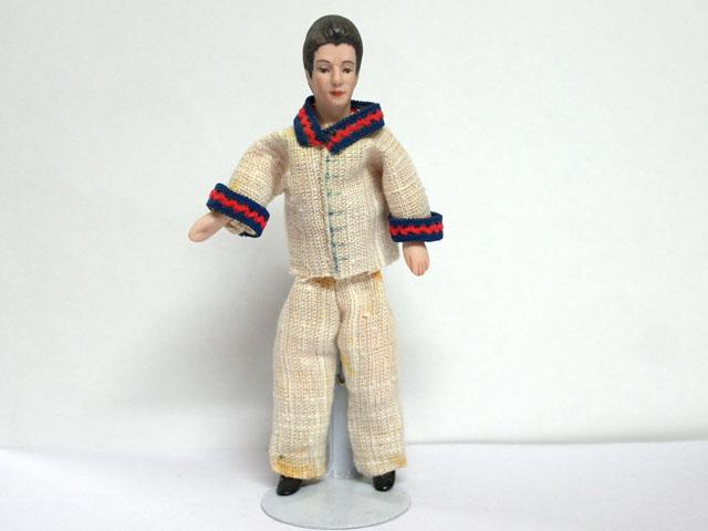 ビスクドール  ビスクドール・男性 14.2cm
