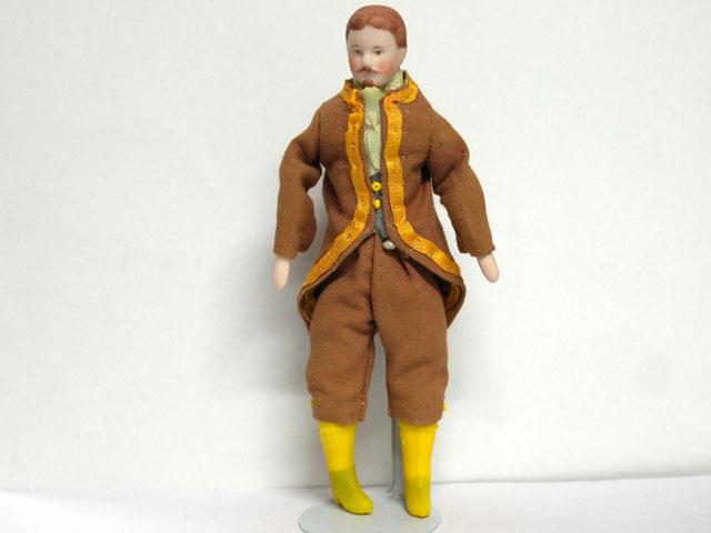 ビスクドール  ビスクドール・男性 15.5cm