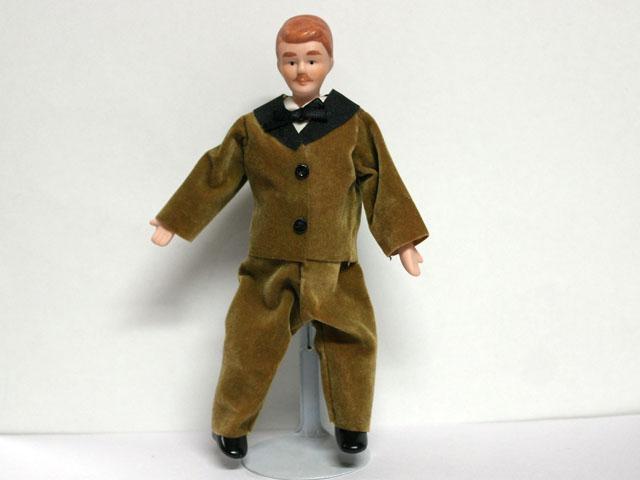 ビスクドール  ビスクドール・男性 14.5cm