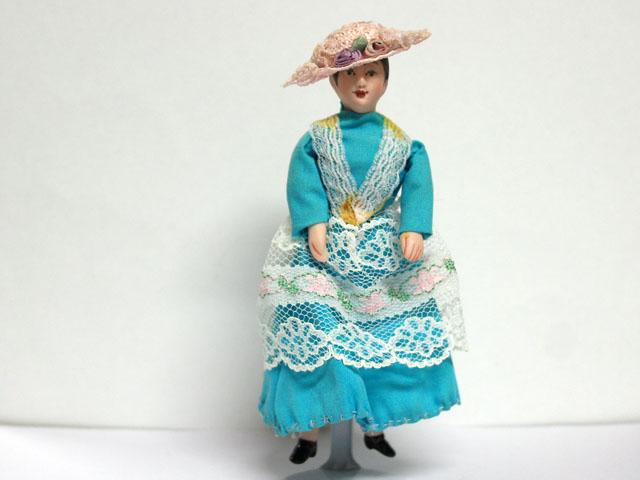 ビスクドール  ビスクドール・婦人 13.7cm