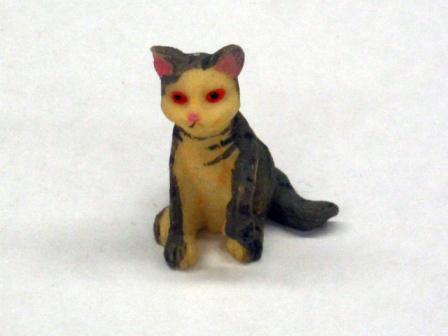 ガーデン小物 動物/ペット用品 赤い目のネコ Moggy