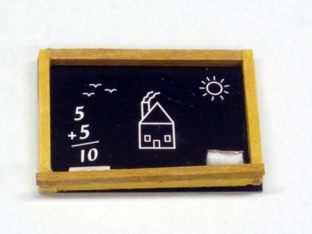 リビング小物 ナーサリー /キッズ小物 黒板 blackboard with chalks&shelf