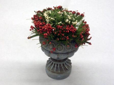 ガーデン小物 花瓶・鉢等 プランタ花 英国より直輸入 12分の1サイズの ドールハウス・アクセサリーです。