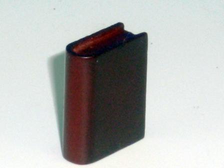 リビング小物 オフィス・書斎 アクセサリー 本(木製) decorative solid wood book Width: 18mm Depth: 7mm Height: 24mm