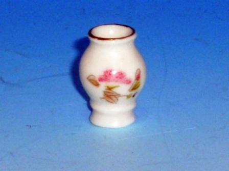 ガーデン小物 花瓶・鉢等 陶器花瓶 英国より直輸入 12分の1サイズの ドールハウス・アクセサリーです。