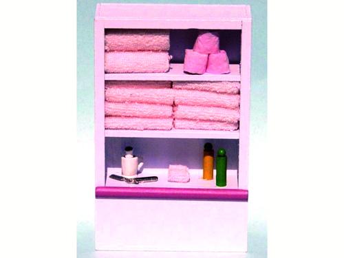 リビング小物 バスルーム小物 トイレタリー・ユニット 英国より直輸入  12分の1サイズの ドールハウス・アクセサリーです。
