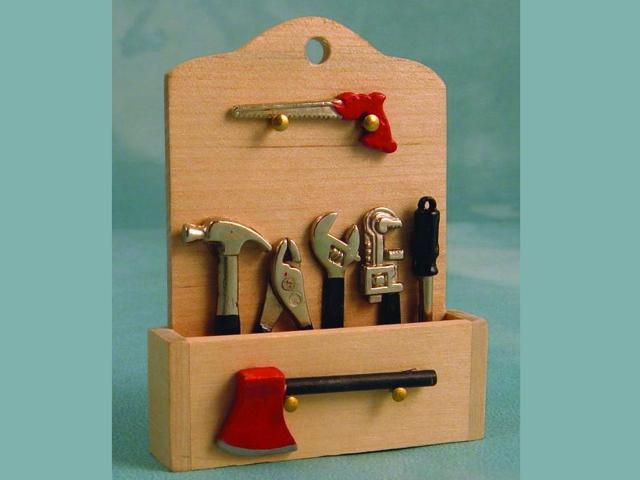 ガーデン小物 道具 道具セット 英国より直輸入  12分の1サイズの ドールハウス・アクセサリーです。