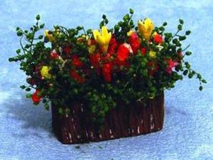 ガーデン小物 花瓶・鉢等 フラワー・ボックス 英国より直輸入  12分の1サイズの ドールハウス・アクセサリーです。