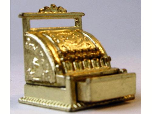 リビング小物 ショップディスプレィ小物 レジスター 英国より直輸入  12分の1サイズの ドールハウス・アクセサリーです。