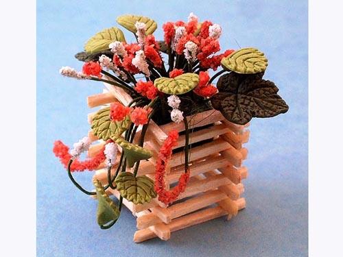 ガーデン小物 花瓶・鉢等 プランター 英国より直輸入  12分の1サイズの ドールハウス・アクセサリーです。
