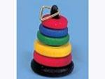 リビング小物 ナーサリー /キッズ小物 輪投げ 英国より直輸入  12分の1サイズの ドールハウス・アクセサリーです。