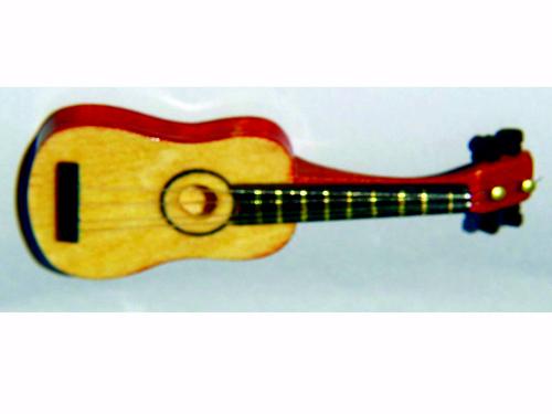 リビング小物 楽器 スパニッシュ・ギター 英国より直輸入  12分の1サイズの ドールハウス・アクセサリーです。