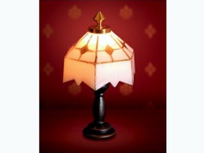 照明器具 壁・その他用 照明 ティファニー テーブル・ランプ 英国より直輸入  12分の1サイズの ドールハウス用照明です。