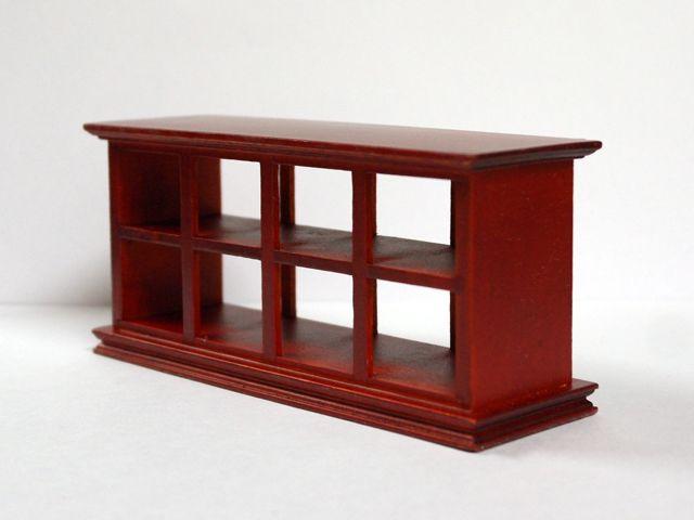 家具 ショップディスプレィ家具 ショップカウンター マホガニー 英国より直輸入  12分の1サイズの ドールハウス家具です。