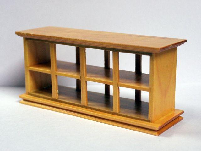 家具 ショップディスプレィ家具 ショップカウンター パイン 英国より直輸入  12分の1サイズの ドールハウス家具です。