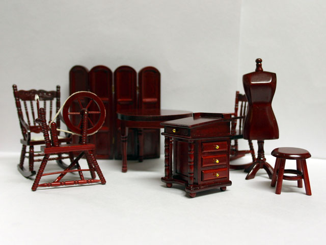 家具 その他 その他セット (DF817) 英国より直輸入  12分の1サイズの ドールハウス家具です。