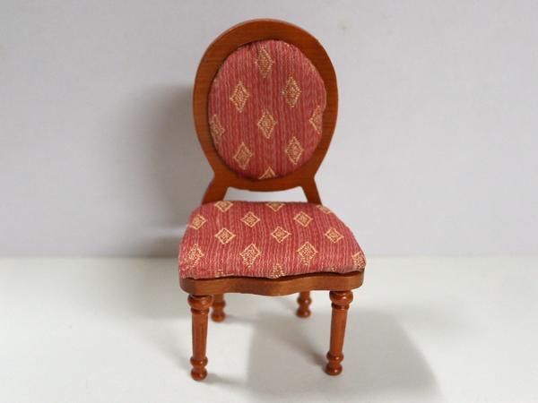 家具 ソファー・チェア類 スプーンバックチェア 英国より直輸入  12分の1サイズの ドールハウス家具です。