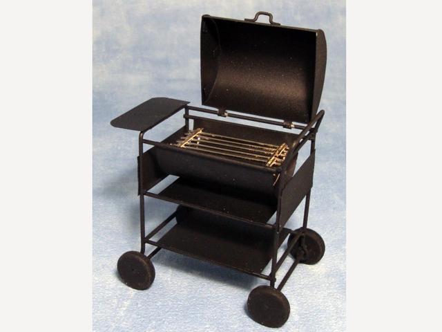 ガーデン小物 道具 BBQ セット 英国より直輸入  12分の1サイズの ドールハウス・アクセサリーです。