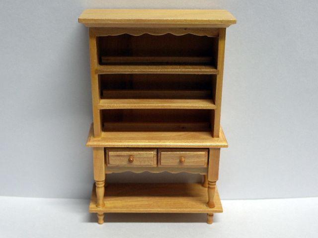 家具 キッチン・ダイニング家具 キッチン カップボード(ドレッサー) 英国より直輸入  12分の1サイズの ドールハウス家具です。