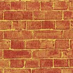 DIY建材 外壁 壁紙 壁紙 外壁レンガ 55.88cm x 76.20cm 1/12サイズのドールハウス用壁紙です。