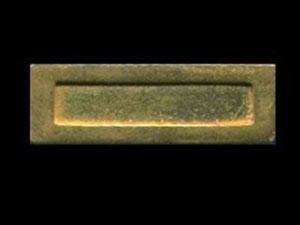 DIY建材 金具等部材 レター・ボックス 真鍮 玄関用ドアに取り付けます