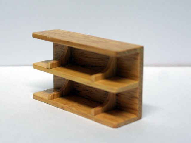 家具 ショップディスプレィ家具 シェルフ 7.6 x 2.2 x 4.4cm
