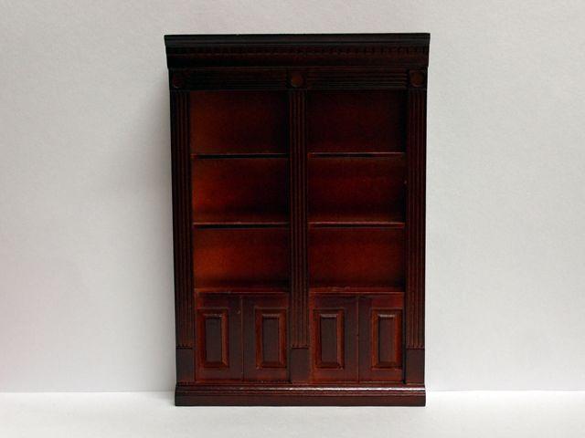 家具 ショップディスプレィ家具 ディスプレィ棚・ブックケース・飾り棚 英国エンポリューム社製 13 x 3.5 x 18.7cm ショップのディスプレィ棚としても最適です。棚は木枠でプラスティック製の透明な板がはめられています。