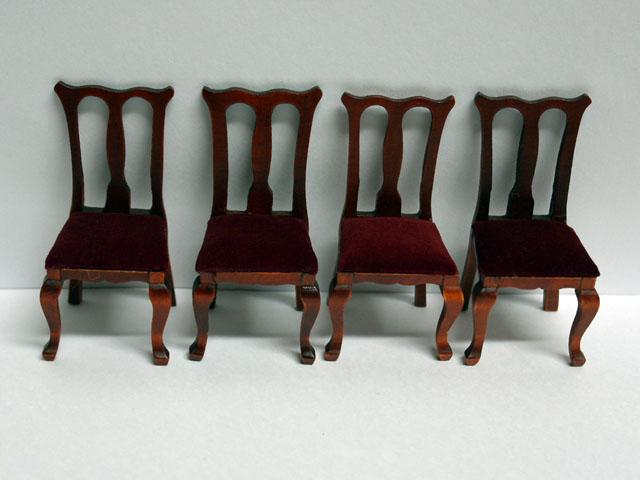 家具 ソファー・チェア類 ダイニング チェア 4脚セット 4.6 x 4 x 8.5cm