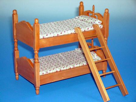 家具 ナーサリー /キッズ家具 2段ベッド 高級2段ベッド 13.7 x 7.7 x 12