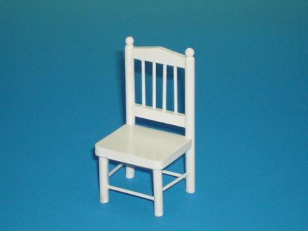 家具 ソファー・チェア類 キッチン チェア 白 4 x 3.7 x 8cm