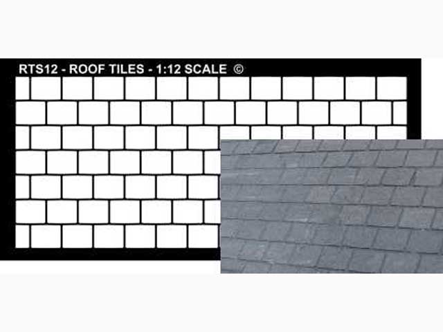 DIY建材 外壁材 その他 ドールハウス 外壁用ステンシル(屋根スレート) ドールハウス用の外壁剤を塗る時のステンシルです。