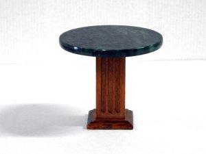 画像1: 大理石トップ・テーブル グリーン