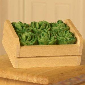 画像1: クレート(木箱)入り キャベツ