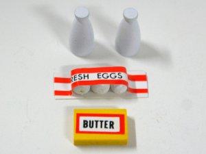 画像2: 卵・牛乳2本・バターセット