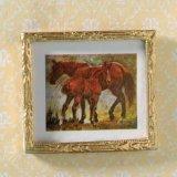 """絵画 """"Horses in the Meadow """""""