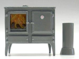 画像1: キッチン  オーブン/薪ストーブ