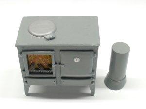 画像3: キッチン  オーブン/薪ストーブ
