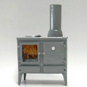 画像2: キッチン  オーブン/薪ストーブ