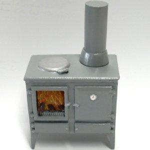 画像4: キッチン  オーブン/薪ストーブ