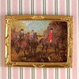 """絵画 """"Horses on the Hunt """""""