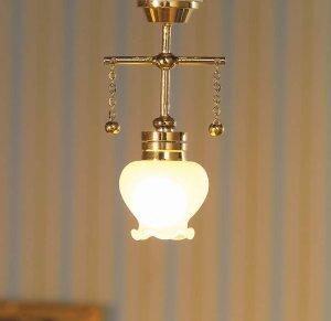 1/12サイズのドールハウス用ミニチュア 照明 天井用 吊り下げ