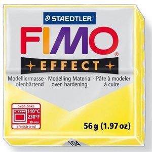 画像1: ステッドラー STAEDTLER  フィモ エフェクト 56g 半透明イエロー