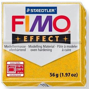 画像1: ステッドラー STAEDTLER  フィモ エフェクト 56g グリッターゴールド